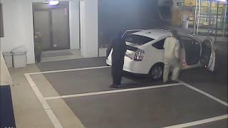 名古屋防犯カメラセンター 窃盗団を撮影
