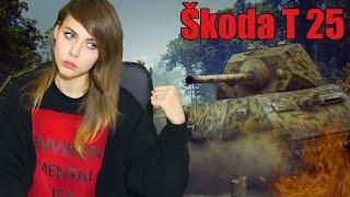 Škoda T 25: Любой тяж по барабану ヾ(。ꏿ﹏ꏿ)ノ゙ [TANK GIRL]