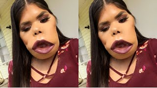 Smokey liner makeup look (aka try to)