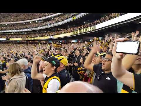 "Singing ""Tigerland""Preliminary Final 2017"