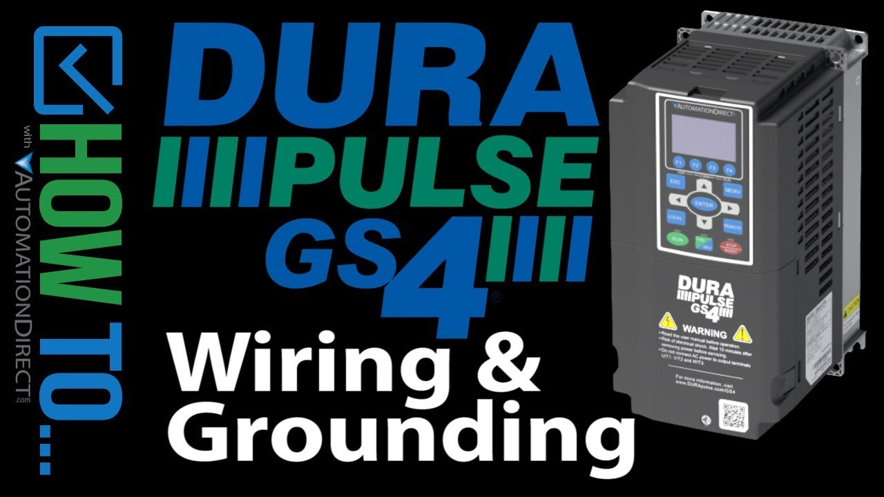 GS4 Drive (VFD) - Wiring and Grounding Tips and Tricks on