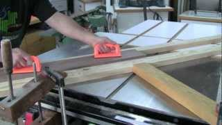 Making Cove Moulding On The Table Saw
