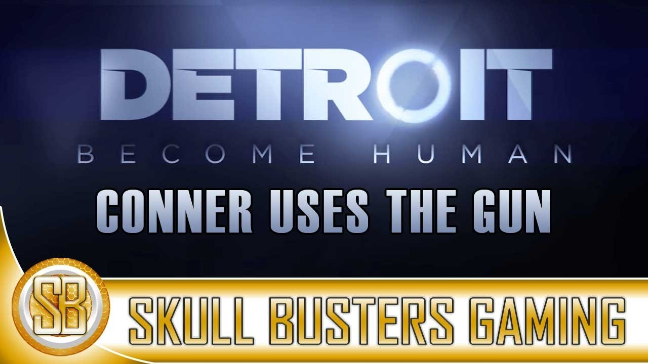 Detroit Become Human Using The Gun Ending Youtube