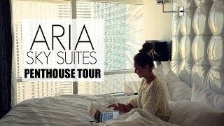 Aria Sky Suites Penthouse Tour | HAUSOFCOLOR Thumbnail