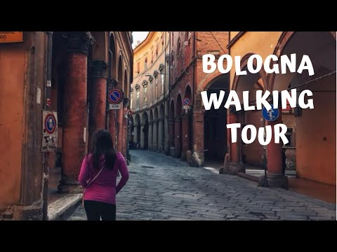 Vlog 6: Little Walking Tour Of Bologna!!
