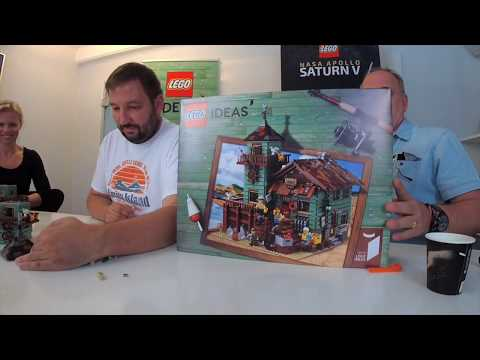Interview With LEGO Ideas Designer Of Old Fishing Store (21310)