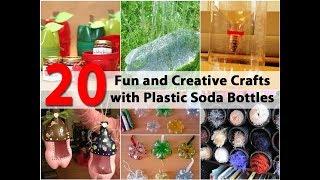 10 DIY Creative Ways to Reuse / Recycle Plastic Bottles