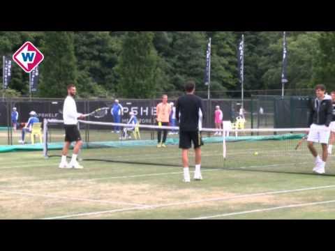 Tennisser Robin Haase op Rosmalen