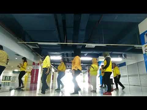 Line Dance Sayang Kane with JJ ANGEL