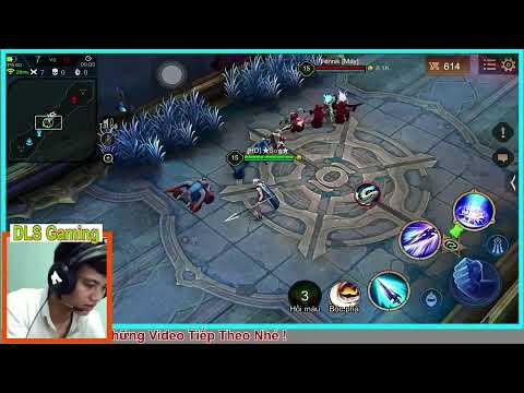 Liên Quân Mobile - Test Tướng Zephys Mang Vào Leo Rank - DLS Gaming