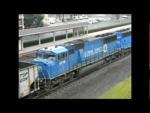 (HD) Norfolk Southern Train Pictures From Pennsylvania July 2011