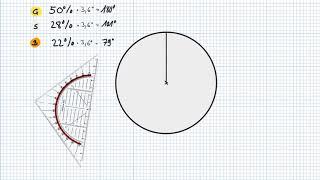 Mathe 8 -  Prozentangaben im Kreisdiagramm darstellen
