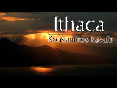 Gedicht Poem Ithaca Von Konstantinos Kavafis
