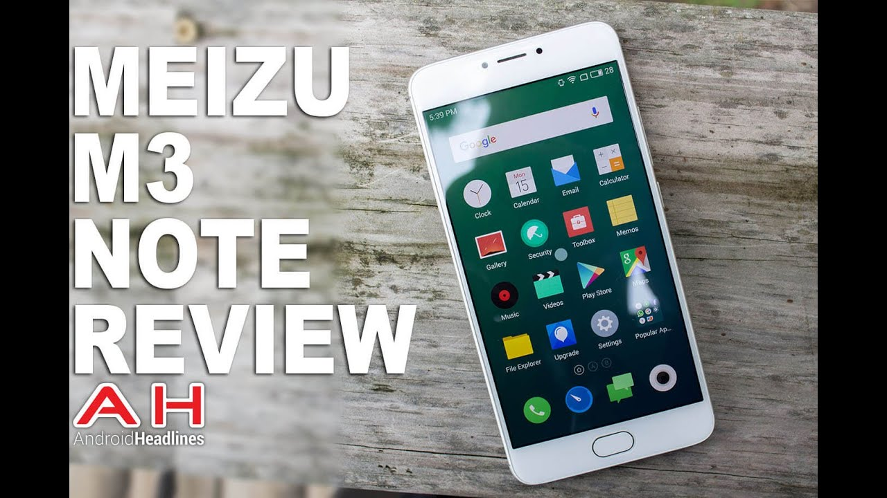 Review: Meizu M3 Note | Android Headlines