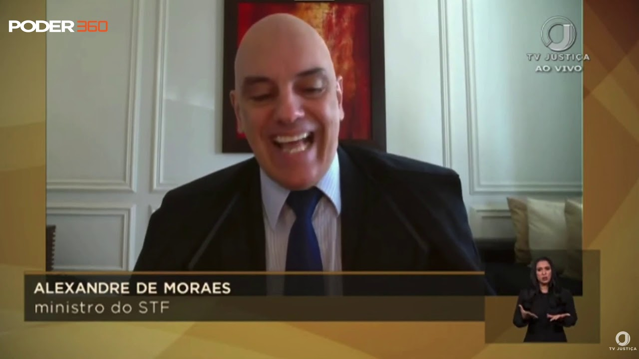 Alexandre de Moraes lê frases disparadas ao STF durante inquérito ...