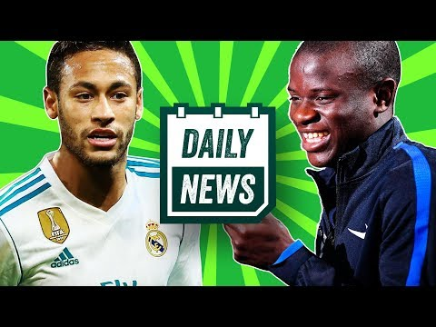 LATEST TRANSFERS: Pogba wants to play with Neymar, Kante transfer rumour, England update ►Daily News