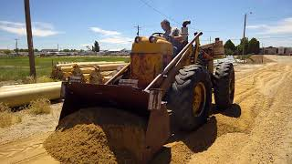 Allis Chalmers Tl12 Grading Repowered With Detroit 353