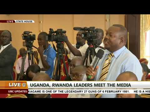 Museveni and Kagame full press conference at state house - Entebbe