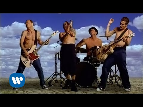red hot chili peppers californication official music