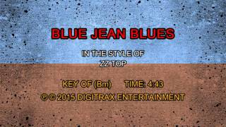 ZZ Top - Blue Jean Blues (Backing Track)