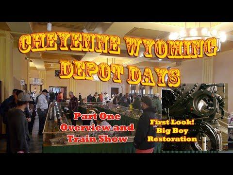 GREAT TRAIN SHOW! Cheyenne Wyoming Depot Days - Big Boy Restoration