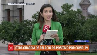 Confirman segundo guardia de palacio de La Moneda con COVID-19
