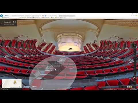 Video Dominion - View inside Carnegie Hall concert venue in Midtown Manhatten New York City