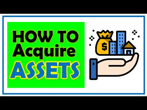 How to Acquire Assets | Buying Assets For Beginners