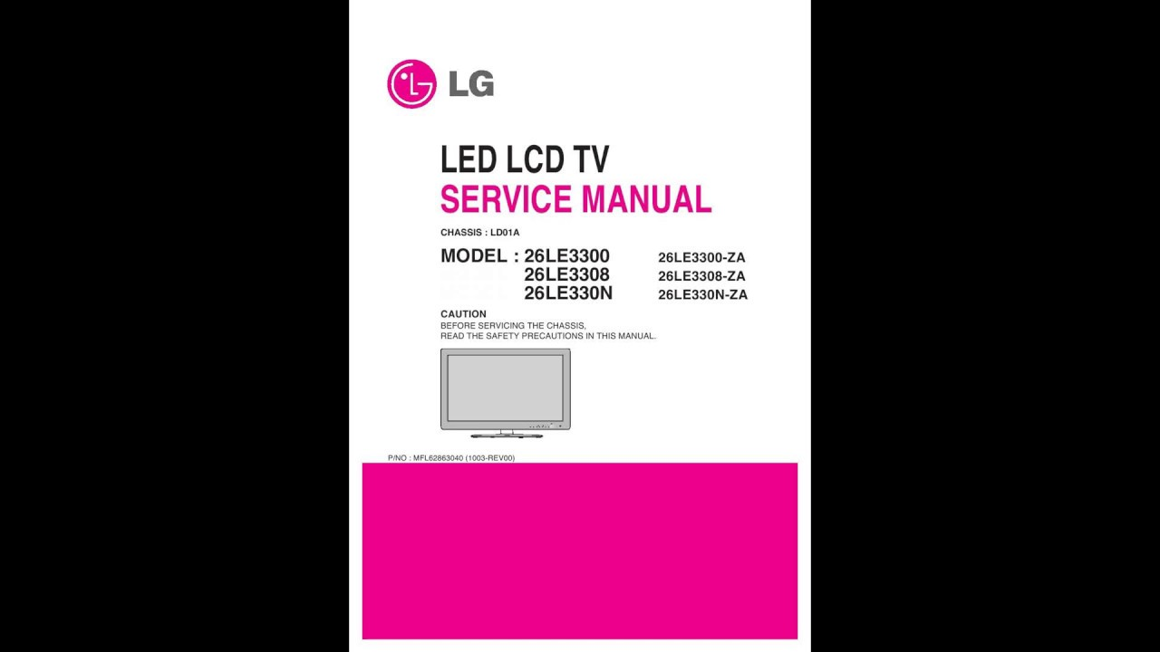 lg led lcd tv service manual youtube rh youtube com lg lcd service manual lg lcd tv owner's manual
