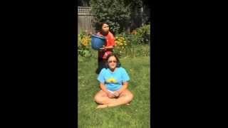 Ofelia does the Ice Bucket Challenge!!