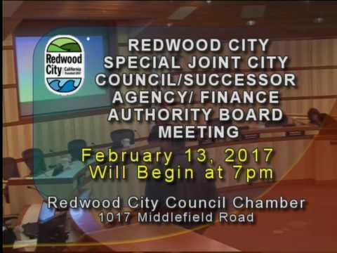 Redwood City - City Council 02.13.17