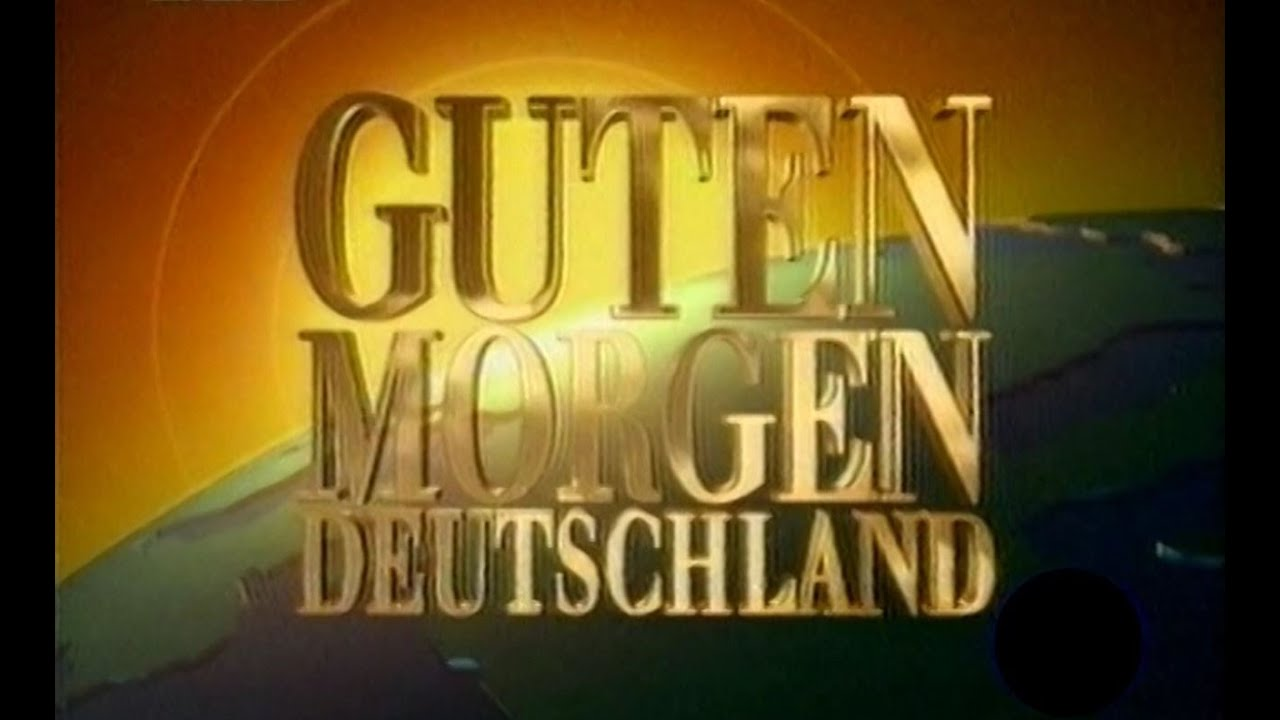 rtl guten morgen deutschland intro 1994 mit backtimer youtube. Black Bedroom Furniture Sets. Home Design Ideas