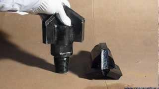 Пикобур, долото с промывкой(http://www.youtube.com/watch?v=2VLhAX3fYDA буровая установка., 2012-07-26T19:16:33.000Z)