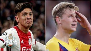 Edson Álvarez le ha dado más solidez defensiva al Ajax que Frenkie de Jong | Futbol Picante