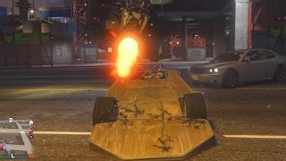 GTA 5  JUMPING BUILDING Challenge!! Ramp Car VS Jet Car Online
