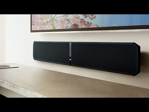 Bluesound PULSE SOUNDBAR Multi-Room High-Res Unboxing Review - YouTube