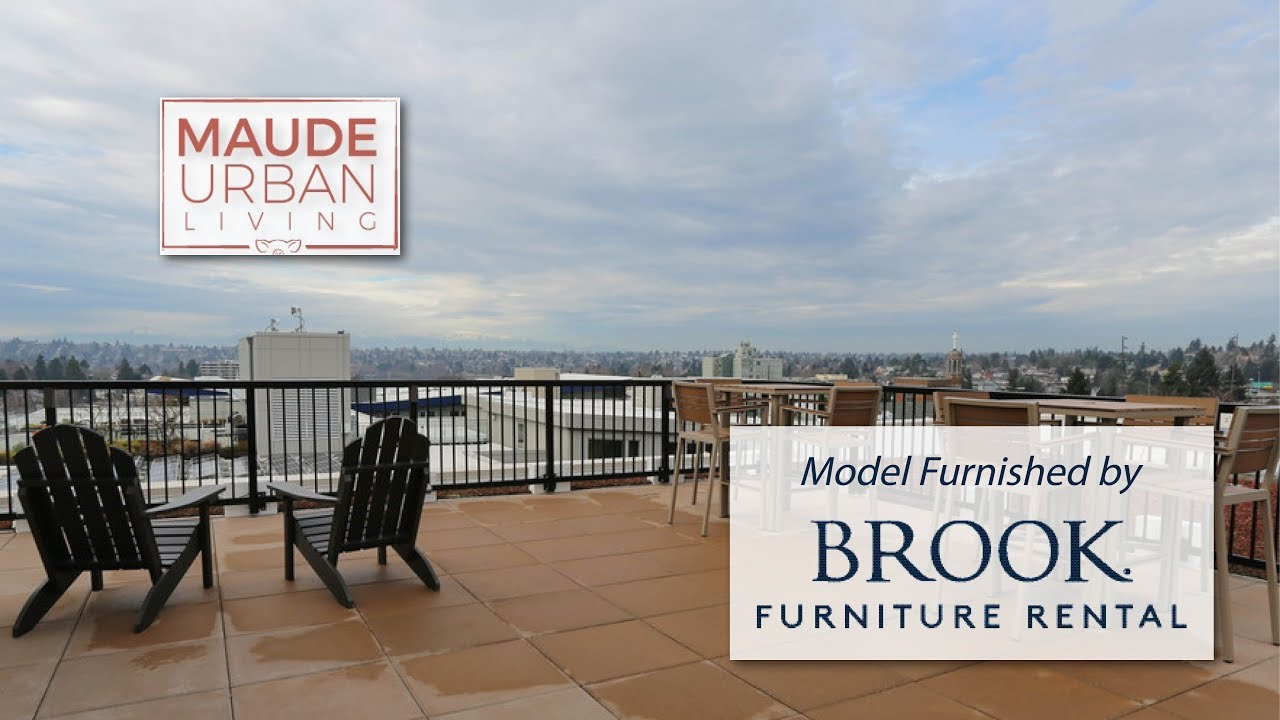 Maude Urban Living Apartments. Brook Furniture Rental ...