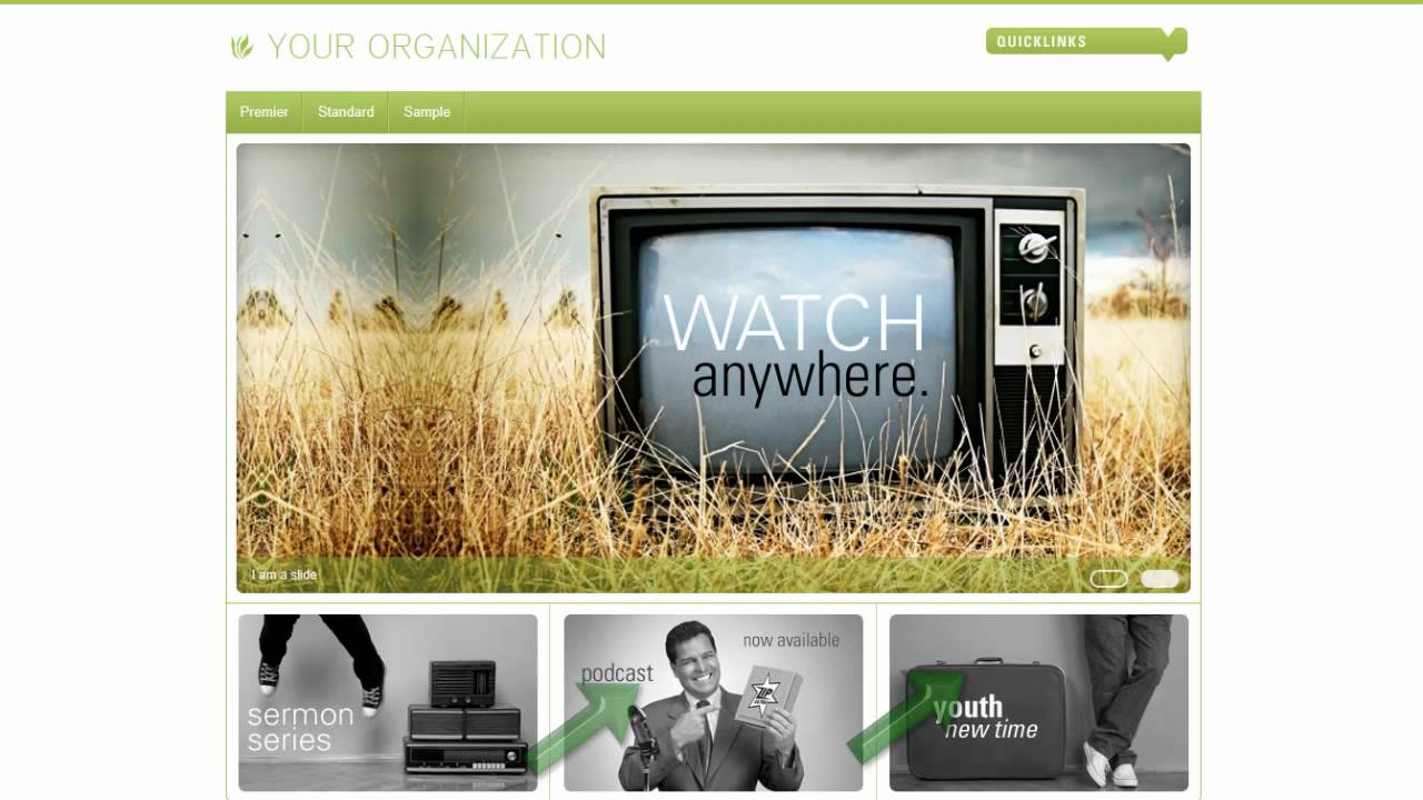 ELEXIO WEBSITE CMS Church Website Designs - YouTube