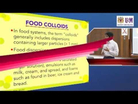 IMK209: LECTURE 6 (18th October 2012)— FOOD EMULSIONS & FOAMS
