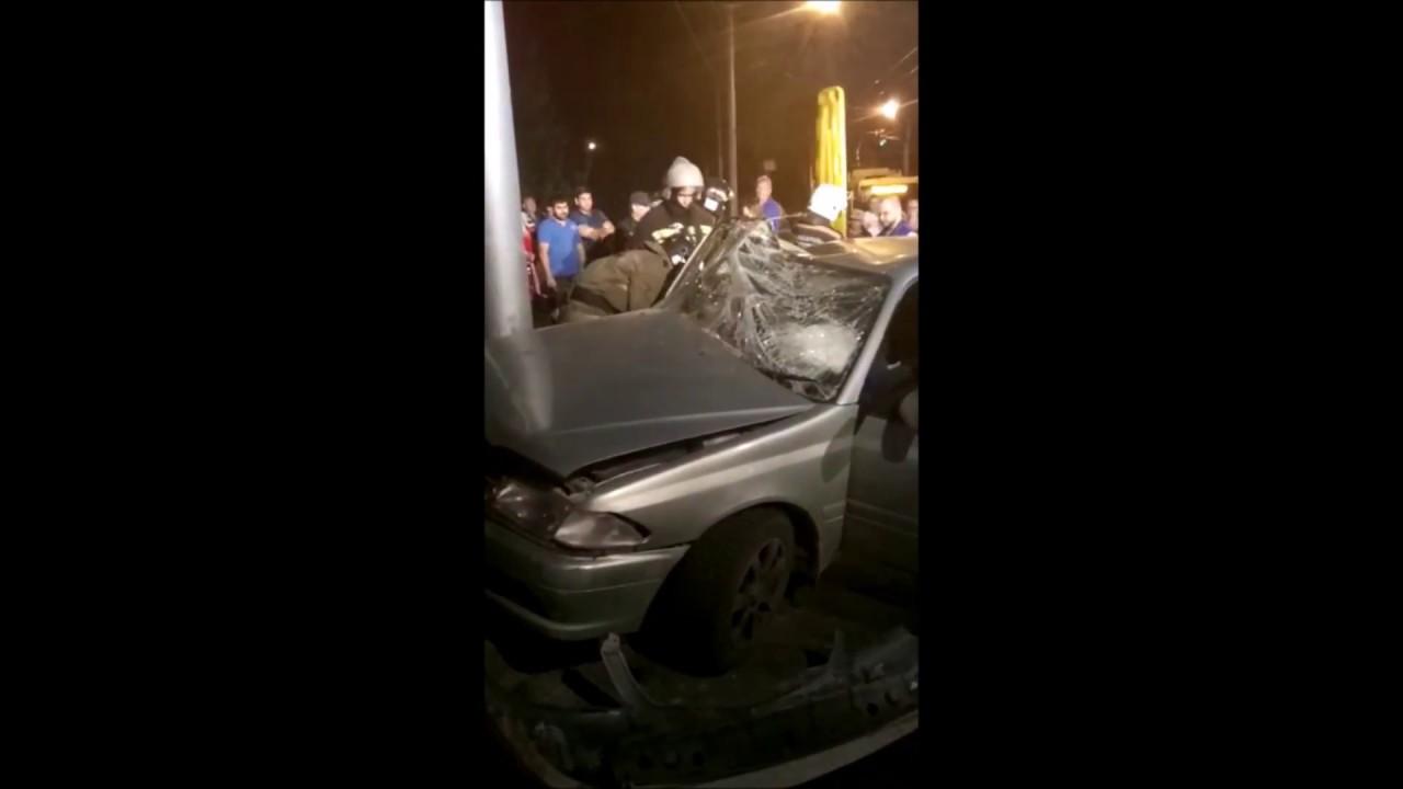 Серьезное ДТП на Мочищенском шоссе - пострадало 2 человека