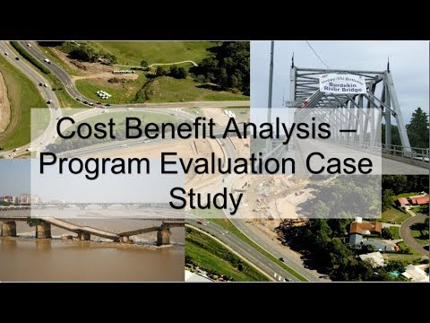 Cost Benefit Analysis - Program Evaluation Case Study (Austr