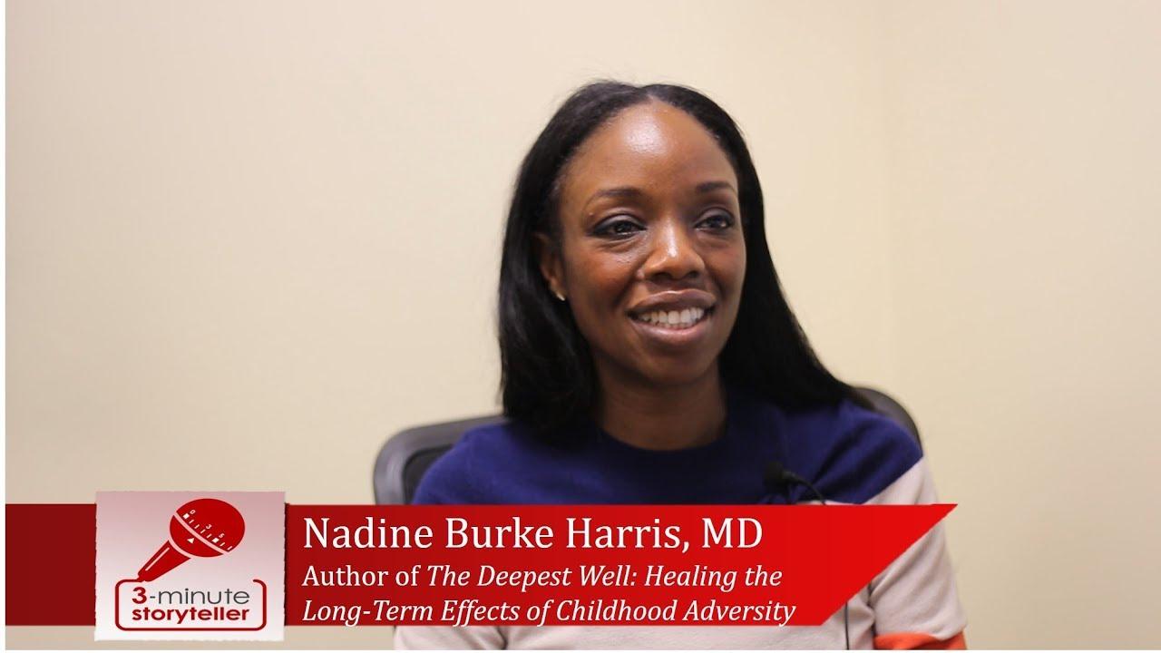 Nadine Burke Harris How Does Trauma >> Nadine Burke Harris Md Author Of The Deepest Well Youtube