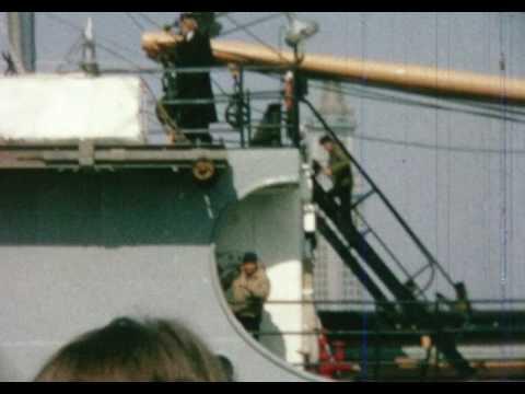 1962 Visiting Joe on the Bay State Mass Maritime Academy