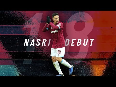 SAMIR NASRI'S DEBUT AGAINST BIRMINGHAM CITY