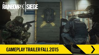 Tom Clancy's Rainbow Six Siege – Gameplay Trailer Fall 2015 [EUROPE]