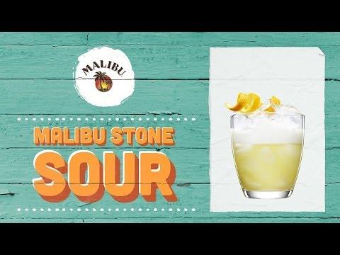 How To Mix A Malibu Stone Sour