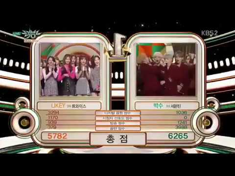 Seventeen's Surprised 2nd Win 'Clap' | 171117 Music Bank