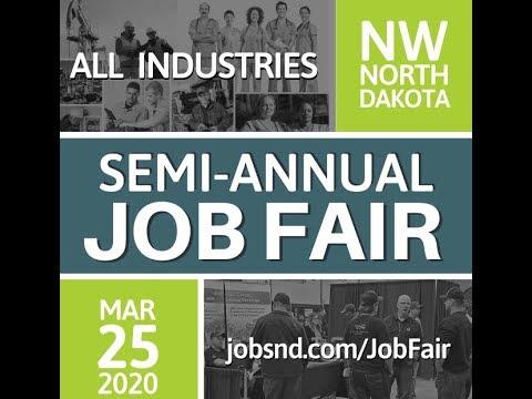 Oilfield Jobs Update And Job Fair Williston North Dakota 2020