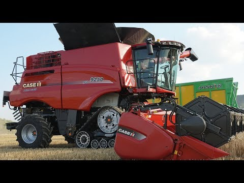 NEU: Case IH Axial-Flow 250 Mähdrescher [Test-Drive in 4K]