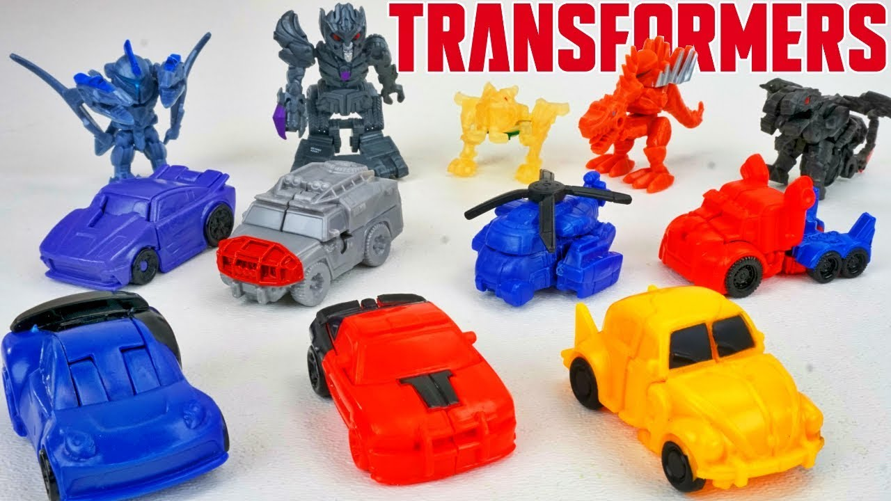 Transformers The Last Knight Tiny Turbo Changers Series 4 Ratchet